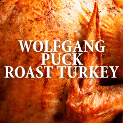 Drs: Wolfgang Puck Holiday Recipes + Roast Turkey & Sweet Potatoes