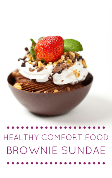 Dr Oz: Guilt-Free Comfort Foods + Brownie Fudge Sundae Recipe