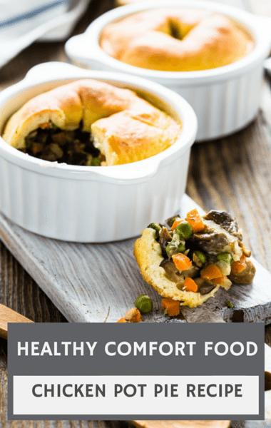 Dr Oz: Healthy Comfort Foods + Guilt-Free Chicken Pot Pie
