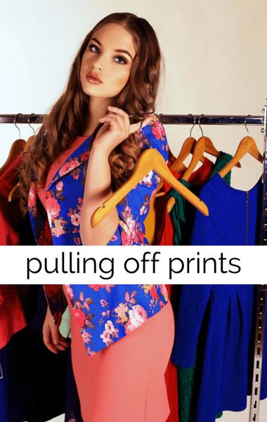 Drs: Slimming Fashion Tricks + How To Wear Prints & Stripes
