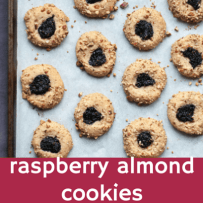 Drs: Cookie Face Challenge + Raspberry Almond Cookie Recipe