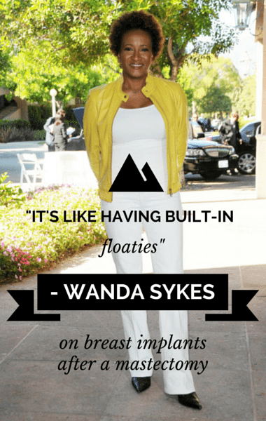 Dr Oz: Comedian Wanda Sykes Hot Flashes & Breast Cancer