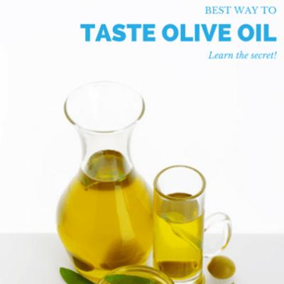 Drs: Learn How To Taste + Find Quality Olive Oil & Chocolate