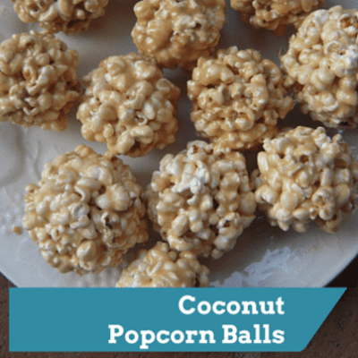 The Doctors: Healthy Sweets + Coconut Popcorn Balls Recipe