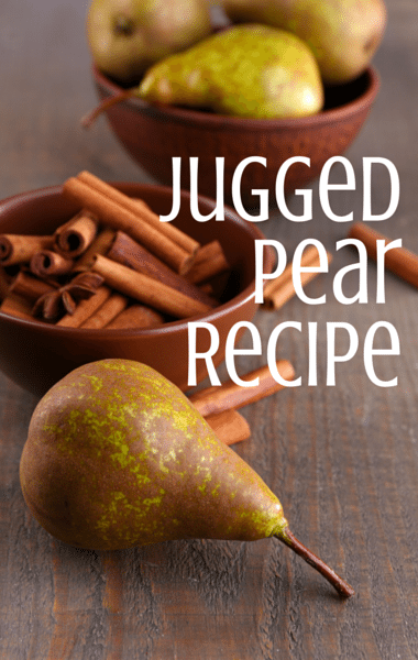 Dr Oz: Cranberry Juice Instead Of Red Wine + Jugged Pear Recipe