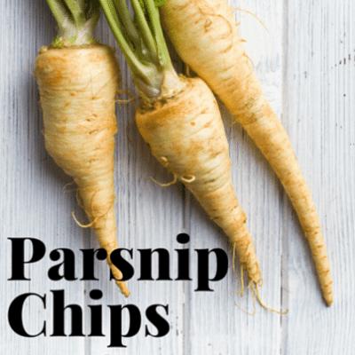Drs: Healthier Snacks + Parsnip Chips & Salsa Fresca Recipe