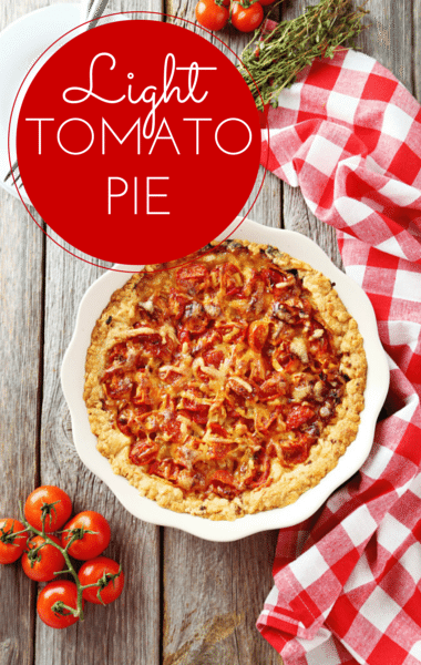 Dr Oz: Paula Deen Lighter Tomato Pie & Pie Crust Recipes