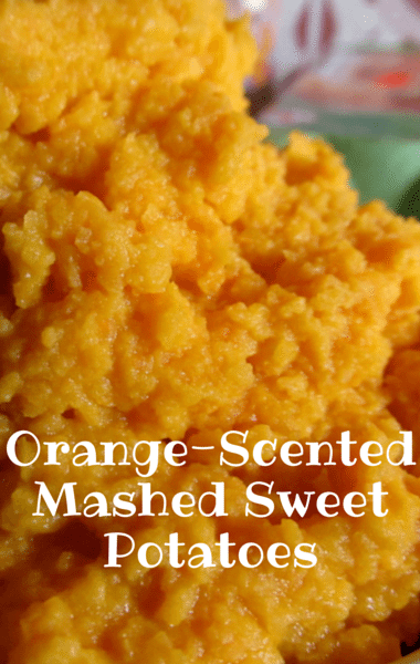 Dr Oz: Rachael Ray Orange-Scented Mashed Sweet Potatoes