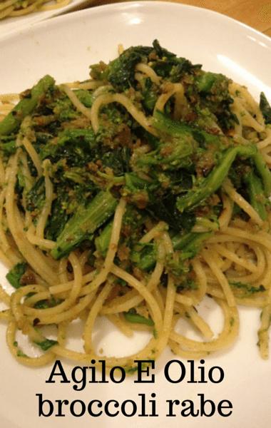 Dr Oz: Agilo E Olio With Broccoli Rabe Recipe