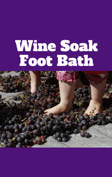 Dr Oz: New Uses For Wine + Foot Soak & Chocolate Cake