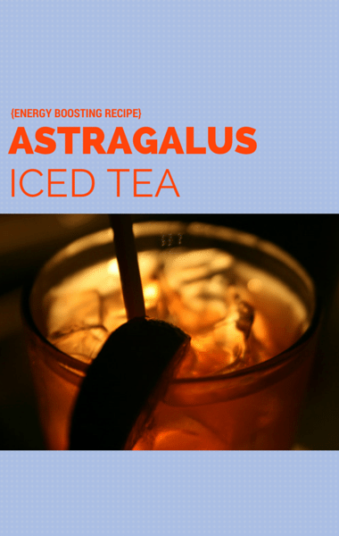 Dr Oz: Boost Energy & Immunity + Iced Astragalus Tea