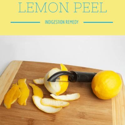 Dr Oz: Lemon Peel Indigestion Remedy & Passionflower Tea Sleeping Pill