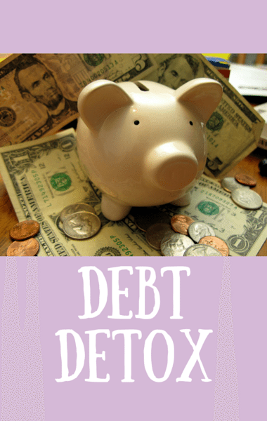 Dr Oz: Debt Detox + Keep A Money Journal & Freeze Spending