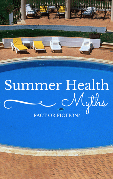 Summer Health Myths: Pee on a Jellyfish Sting? Base Tan Protects Skin?