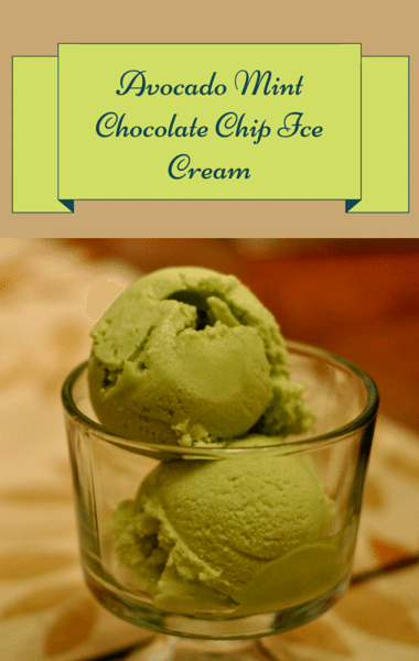Dr Oz: Avocado Mint Chocolate Chip Ice Cream + Healthy Sweets