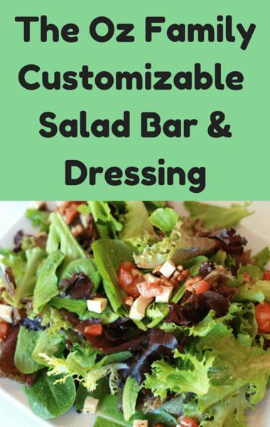 Dr Oz: Customizable Salad & Dressing + Daphne Oz Pregnancy