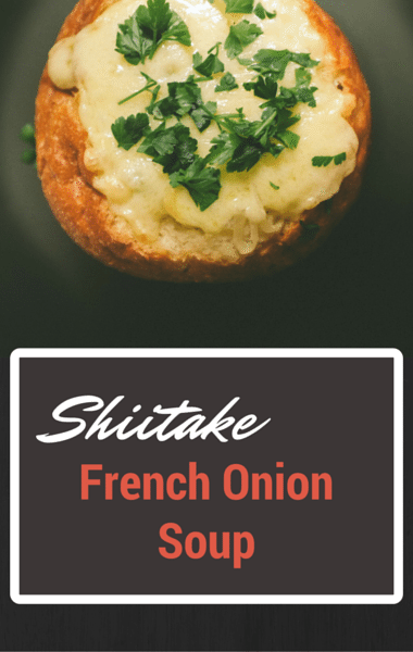 Rachael Ray: Shiitake French Onion Soup + Smash Burgers