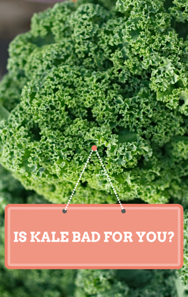 Does kale affect thyroid