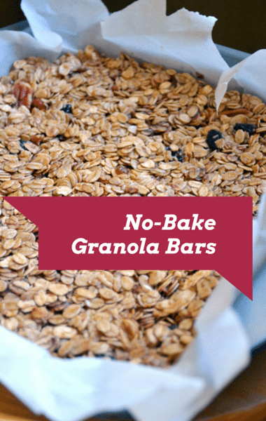 Dr Oz: Emergency Preparedness + No-Bake Granola Bar Recipe