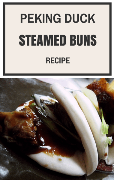 The Chew: Peking Duck Steamed Buns + Eggplant Pomodoro