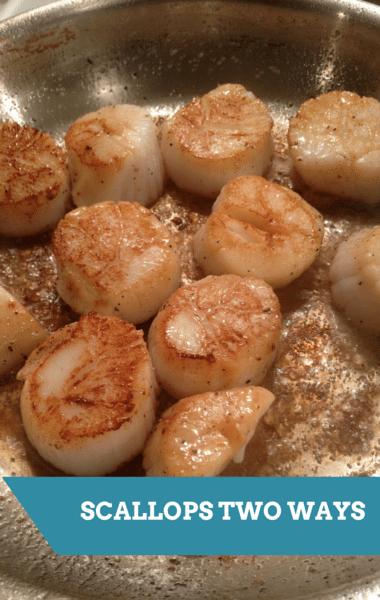The Chew: Scallops Two Ways + White Bean Crostini Recipe