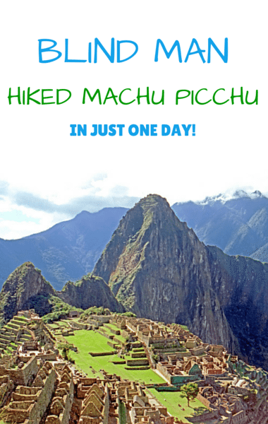 Drs: Blind Man Hiked Machu Picchu + Fat Shaming Or Motivation