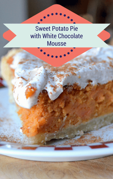 The Chew: Sweet Potato Pie With White Chocolate Mousse