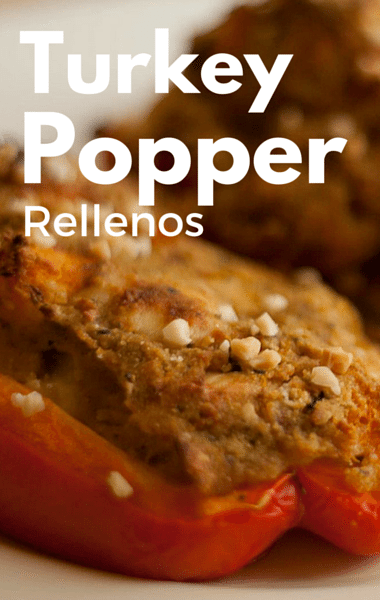 Rachael Ray: Turkey Popper Rellenos + Slow Cooker Stuffing