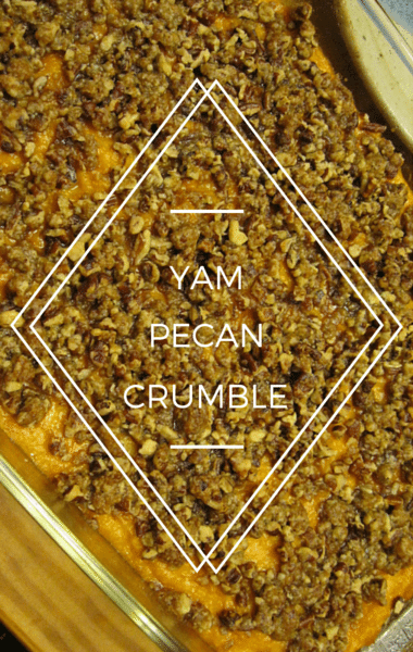The Chew: Yam Pecan Crumble + Stuffed Turkey Recipe