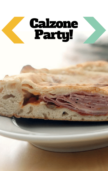 The Chew: Calzone Party + Andouille & Collard Greens Soup