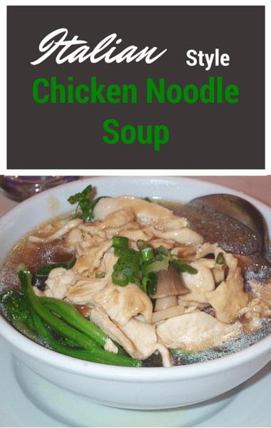 Rachael Ray: Italian Chicken Noodle Soup + Easy Holiday Treats
