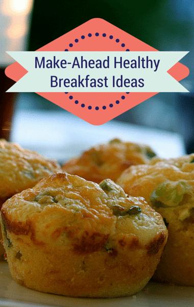 Drs: Make-Ahead Healthy Breakfast Ideas + Egg White Muffins