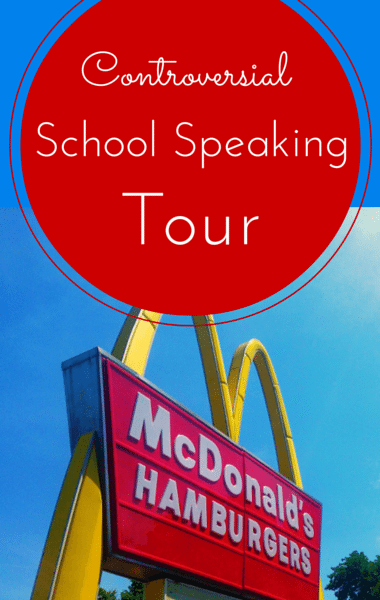 Drs: Controversial McDonald's School Tour + Stoner Bible Study