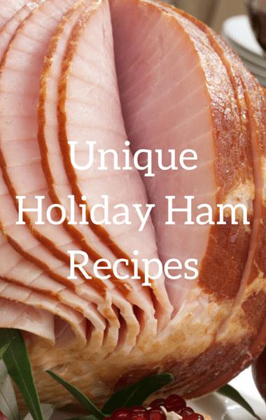 Rachael Ray: Unique Holiday Ham Recipes + Florentine Penne