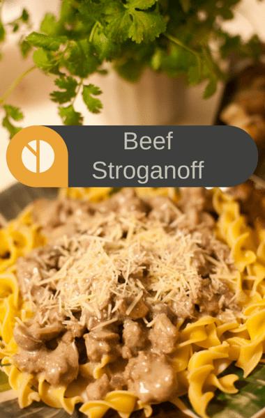 The Chew: Beef Stroganoff + BBQ Salmon Sandwich