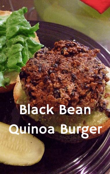 The Chew: Slim Down Recipes + Black Bean Quinoa Burger