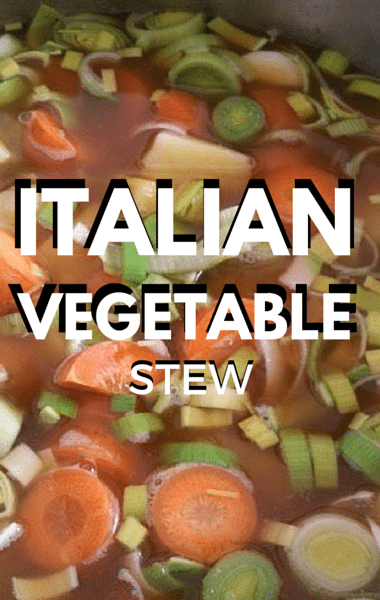 The Chew: Italian Vegetable Stew + Braised Veal Short Ribs