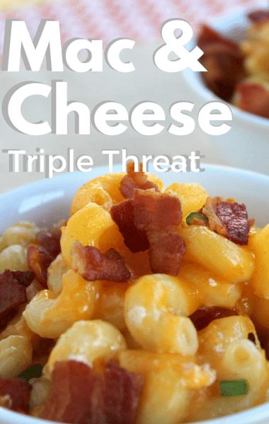 Rachael Ray: Mac & Cheese Triple Threat + Brined Pork Loin