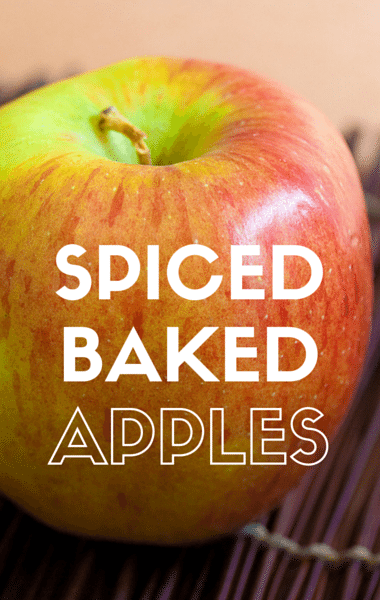 The Chew: Spiced Baked Apples + Ribollita Recipe
