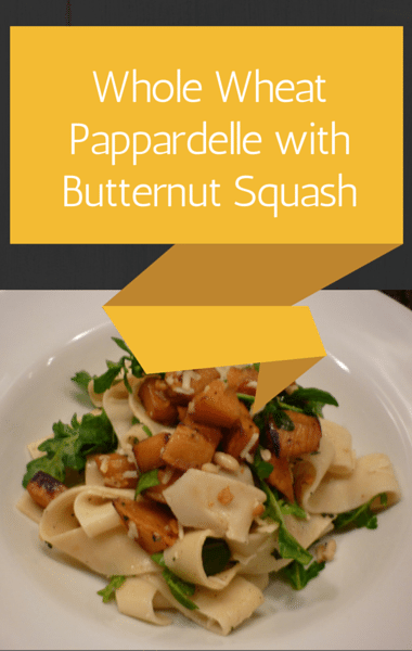 Rachael Ray: Whole Wheat Pappardelle + Mac & Blue