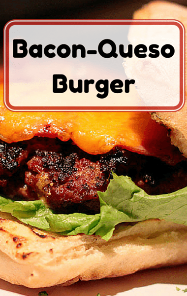 Rachael Ray: Bacon-Queso Burger + Homemade Fries 3 Ways