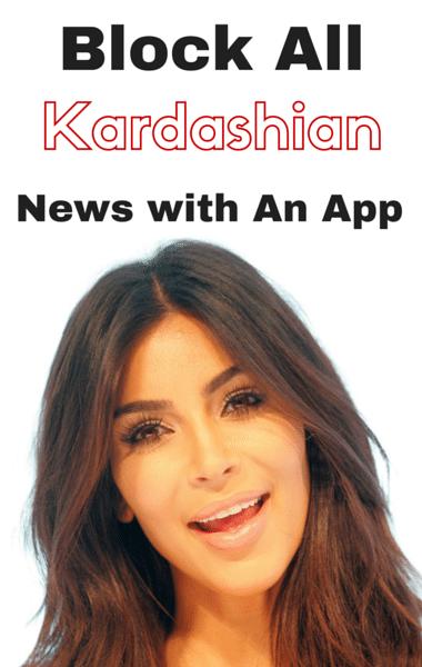 Drs: App To Block Kardashian News + Benefits Of Game Meat