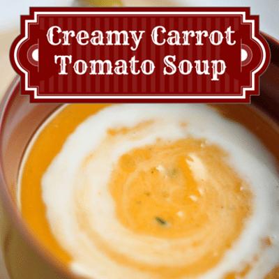 The Chew: Creamy Carrot Tomato Soup + Sicilian Meatballs