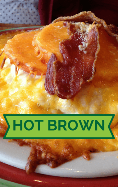 Rachael Ray: Hot Browns + Brown Sugar-Crusted Baked Bologna