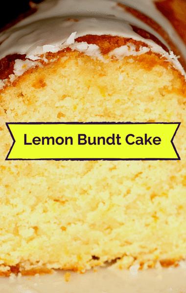 The Chew: Lemon Bundt Cake + Cinnamon-Sugar Chocolate Stars