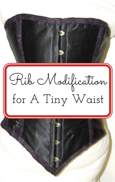 Drs: Rib Modification For 14-Inch Waist + Odd Crime Stories