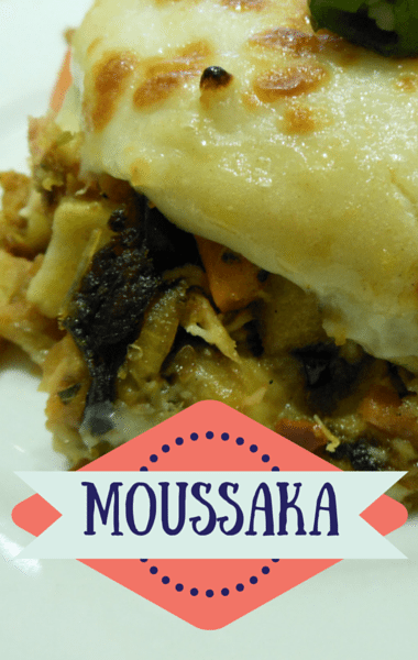 how to make moussaka with greek yogurt