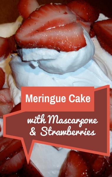 The Chew: Meringue Cake With Mascarpone + Leg Of Lamb Roast