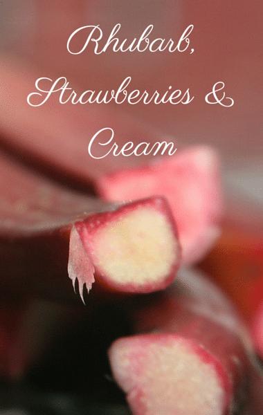 The Chew: Rhubarb, Strawberries & Cream + Pasta With Pea Pesto