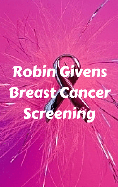The Drs: Actress Robin Givens Breast Cancer Screening & Mammogram